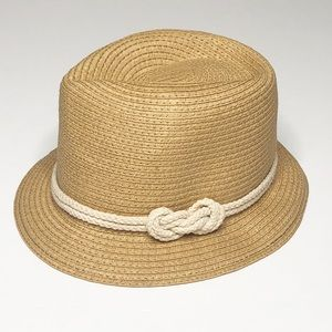 Charlie Paige Nautical Straw Hat